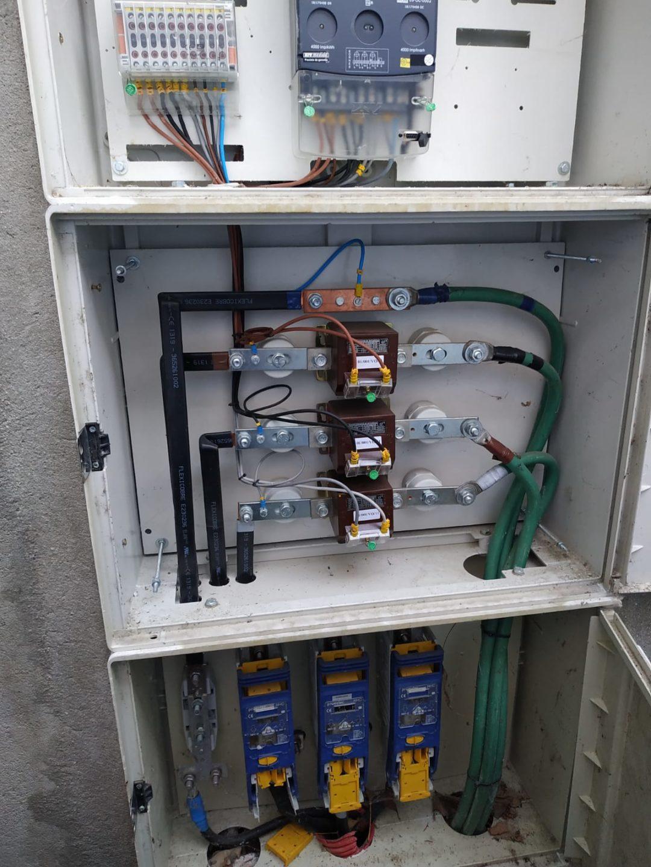 Conexionado de armario