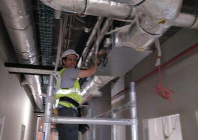 Climatización del Hospital de Toledo